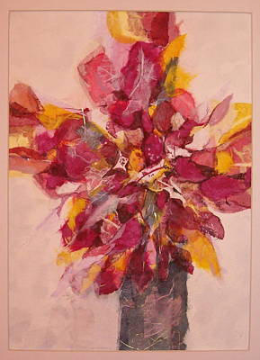 Poster featuring the painting Flower Study by Lynn Babineau