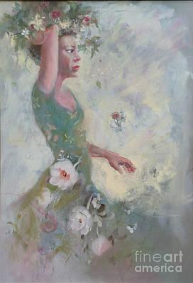 Flower Vender Poster