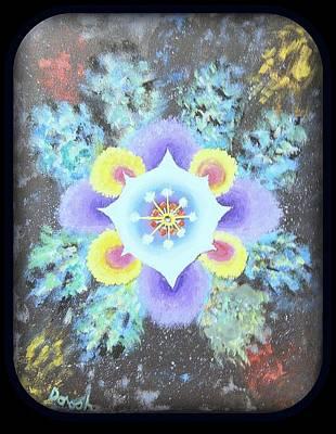 Floral Vortex Poster