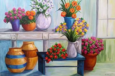 Flowerpots Poster