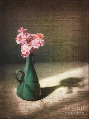 Flowers In Vase Still Life Poster