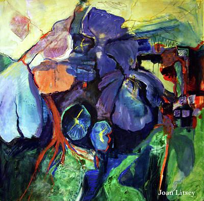 Flowers Poster by International Artist Joan Litsey