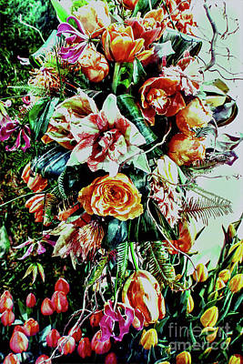 Flowing Bouquet Poster