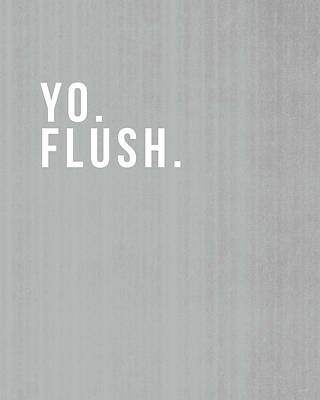 Flush- Art By Linda Woods Poster by Linda Woods