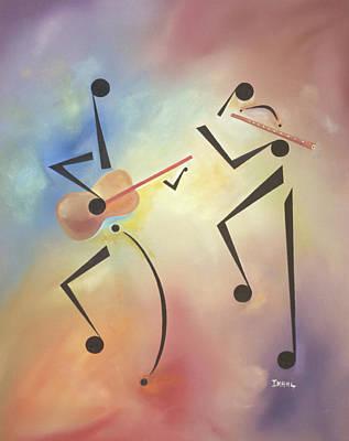 Flutina Poster by Ikahl Beckford