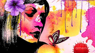 Fly Away Poster by Ramneek Narang