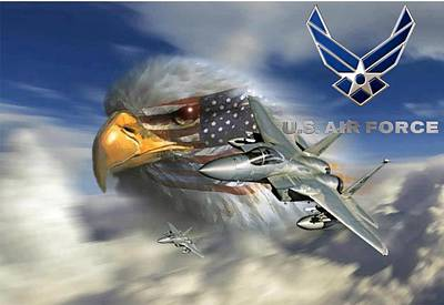 Fly Like The Eagle Poster