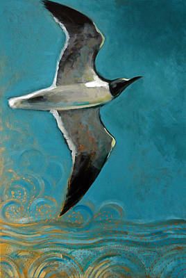 Flying Free Poster by Suzanne McKee