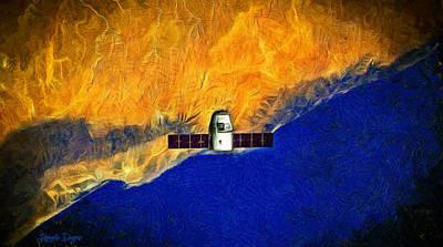 Flying High - Pa Poster by Leonardo Digenio