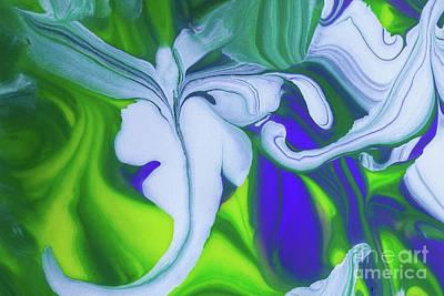 Flying Lizard Poster by Patti Schulze