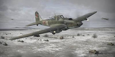 Flying Tank Poster