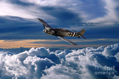 Focke Wulf Fw 190 Poster by Nichola Denny