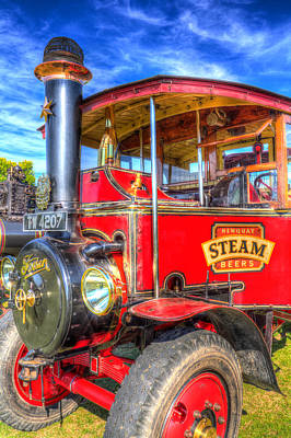 Foden Steam Lorry Poster