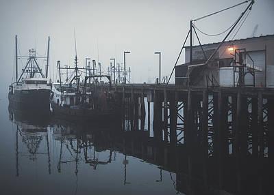 Fog Before Sunrise #2 Poster