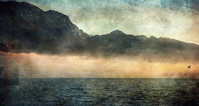 Fog On Garda Lake Poster