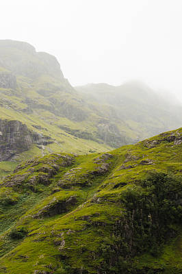 Poster featuring the photograph Foggy Highlands Morning by Christi Kraft