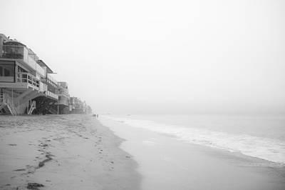 foggy Malibu Beach  Poster by Ralf Kaiser