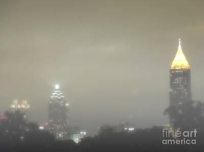 Foggy Night In Atlanta Poster