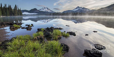 Foliage Along Sparks Lake Poster by Twenty Two North Photography