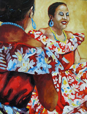 Folklorica II Poster by Monica Linville