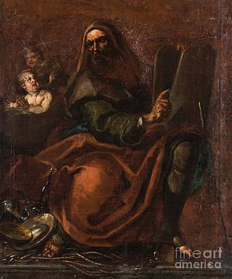 Follower Of Annibale Carracci Poster by MotionAge Designs