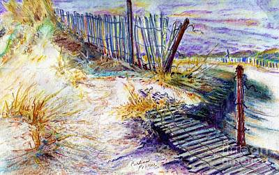 Folly Fences Poster by Carliss Prosser