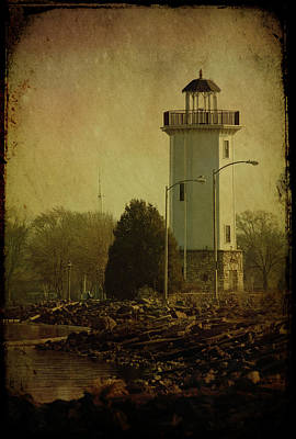 Fond Du Lac Lighthouse Poster by Joel Witmeyer