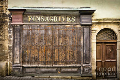 Fonsagrives In Saint-antonin-noble-val Poster by RicardMN Photography