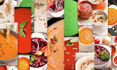 Food Collage Poster