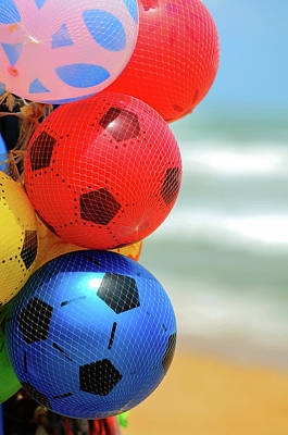 Football Air Balls  Poster
