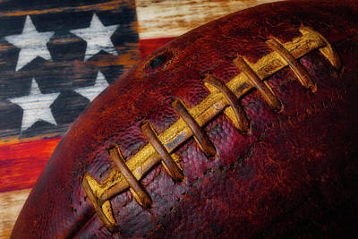 Football Stitching Poster
