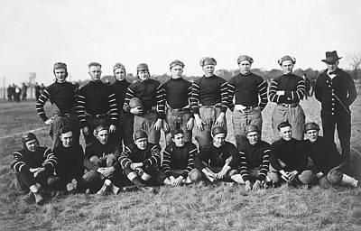 Football Team Portrait Poster