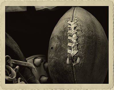 Football3 Poster by Mitford Fontaine