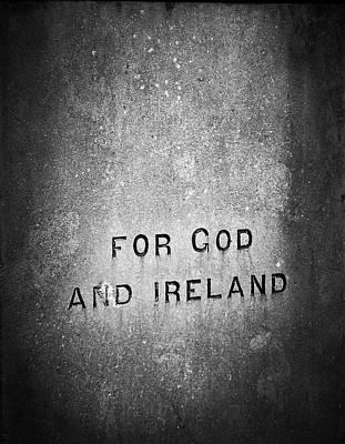 For God And Ireland Macroom Ireland Poster by Teresa Mucha