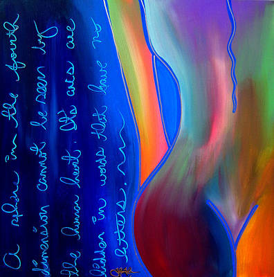 For Sure - Abstract Nude By Fidostudio Poster