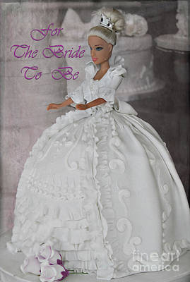 For The Bride To Be Poster by Nina Silver