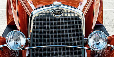 Poster featuring the photograph Ford Coupe by Brad Allen Fine Art