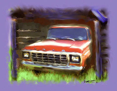 Ford F150 Poster