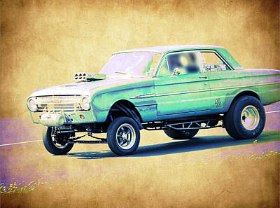 Ford Falcon Gasser Poster