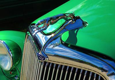 Ford Greyhound Hood Ornament Poster