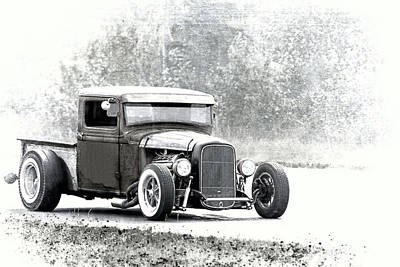 Ford Hot Rod Poster