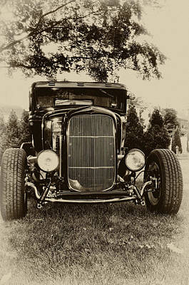 Ford Model A Poster by Bill Cannon