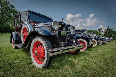 Ford Model T Collection Poster by Mike Burgquist