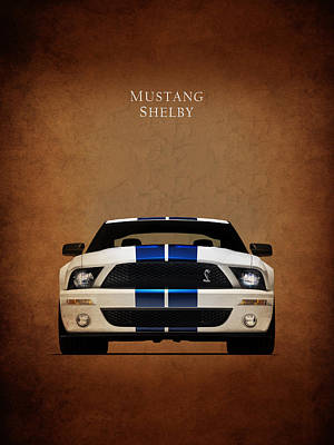 Ford Mustang Shelby 06 Poster by Mark Rogan