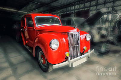 Poster featuring the photograph Ford Prefect by Charuhas Images