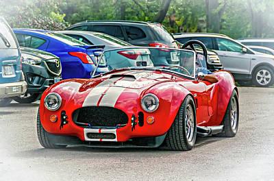 Ford/shelby Ac Cobra Poster by Steve Harrington