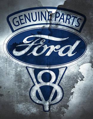 Ford V8 Poster