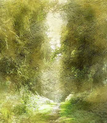Forest Path Poster by The Rambler