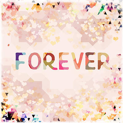 Forever Poster by Amanda Lakey