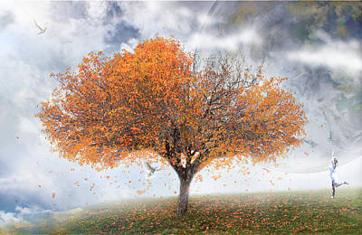 Forever Autumn Poster by Kume Bryant
